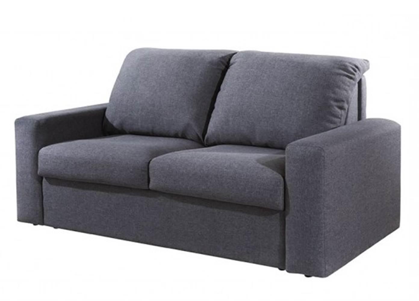 Sofa Cama Colchao de Mola Cinza - 23257 Sun House