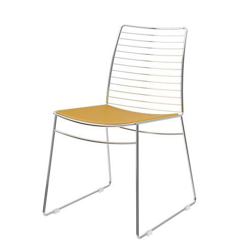 Cadeira-1712--Cromado-com-Amarelo-Ouro