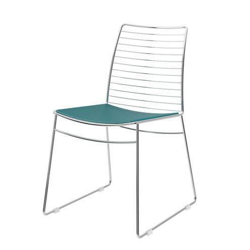 Cadeira-1712--Cromado-com-Turquesa