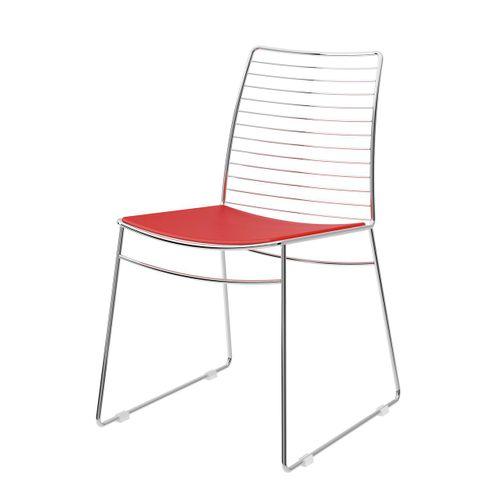 Cadeira-1712--Cromado-com-Vermelho-Real