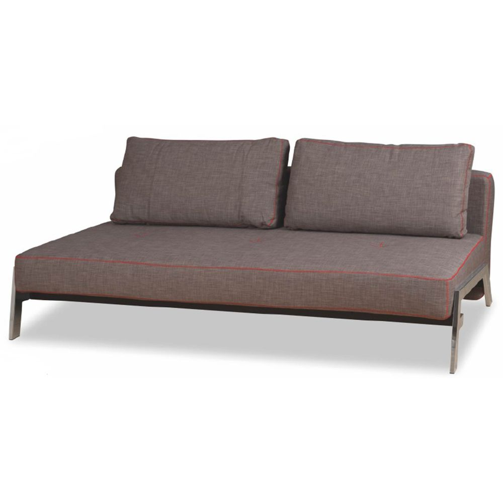 Sofa cama soho s63 a cor cinza linho 23583 sunhouse for Divan cama completo