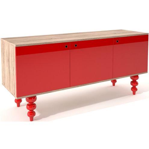 Buffet-Vermelho-Pes-Torneados-3-Portas-Laca-150-MT---32404