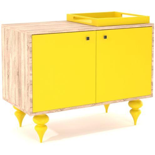 Buffet-Majal-2-Portas-em-Laca-cor-Amarela-90-cm---32863