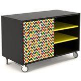 Buffet-Color-3-Nichos-3-Gavetas-Impressas-90-cm---32952