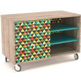 Buffet-Design-3-Nichos-3-Gavetas-Impressas-90-cm---32960