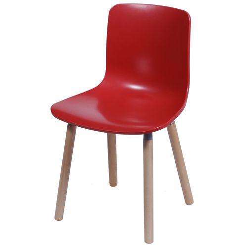 Cadeira-Polipropileno-Vermelho-Fosco-Base-Madeira---33765--