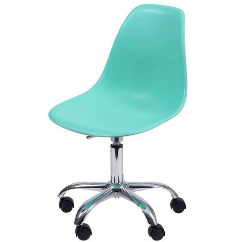 Cadeira-Eames-com-Rodizio-Polipropileno-Verde-Tiffany--35835-