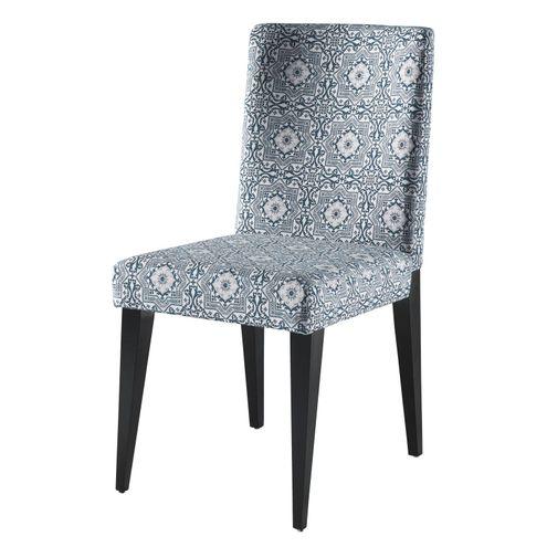 Cadeira-Granada-cor-Laca-Preto-com-Tecido-Estampado