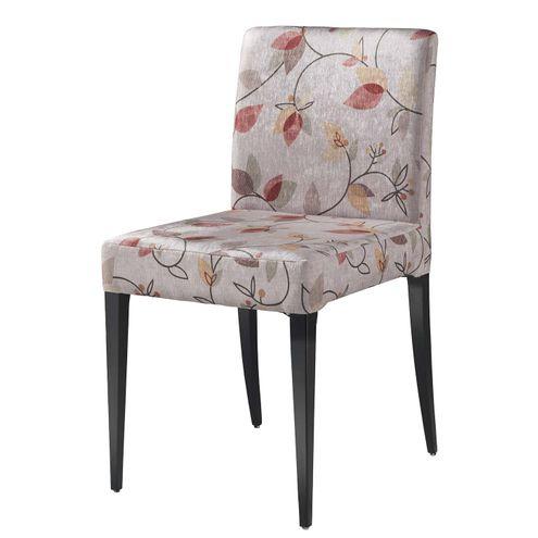 Cadeira-Vera-pe-Laca-Preto-Fosco-Tecido-Estampado