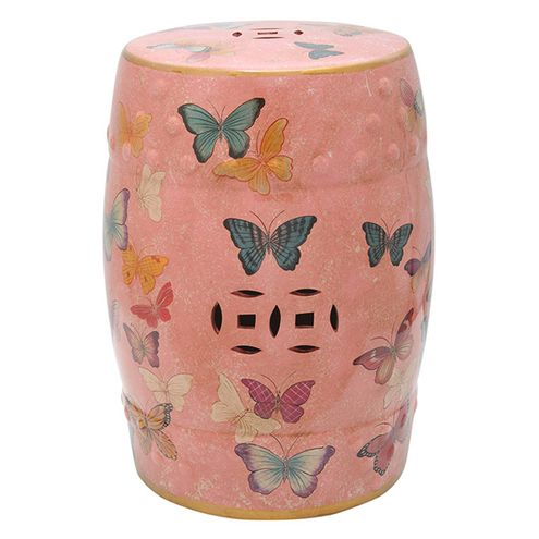 Seat-Garden-em-Ceramica-Butterfly-Cor-Salmao