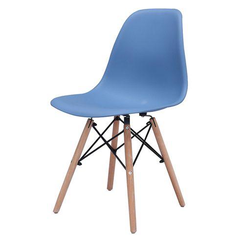 Cadeira-Eiffel-Polipropileno-Azul-Bali-Base-Madeira