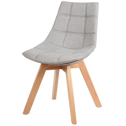 Cadeira-Matela-Cor-Cinza-Claro-Base-Madeira