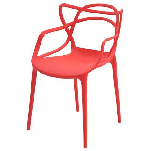 Cadeira-INFANTIL-Allegra-Polipropileno-Vermelha