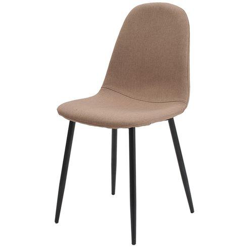 Cadeira-Jacob-Cor-Caqui-Pes-Palito-Metal-Preto