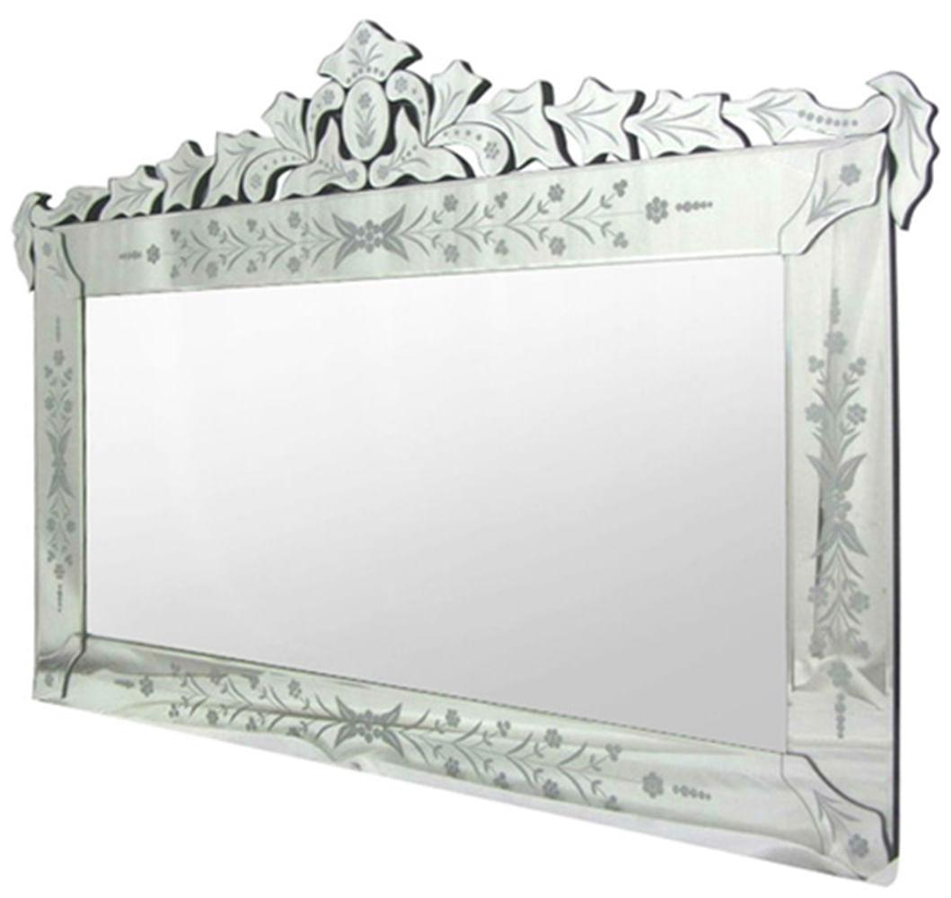Espelho Veneziano Garden Cor Prata 1,20 MT ( LARG ) - 34311 Sun House
