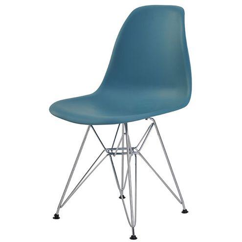 Cadeira-Eames-Eiffel-PP-Verde-Petroleo-Cromada-