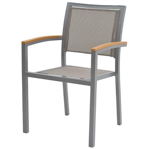 Cadeira-Flex-com-Bracos-Tela-Cinza-Base-Cinza
