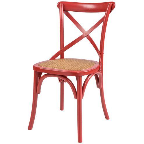 Cadeira-Katrina-Cross-Assento-Rattan-Cor-Vermelha