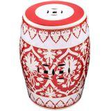 Seat-Garden-Mallorca-Vermelho-com-Branco-em-Ceramica