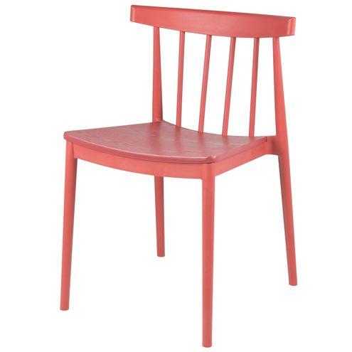 Cadeira-Wish-Assento-Madeira-Base-Polipropileno-Cor-Vermelha