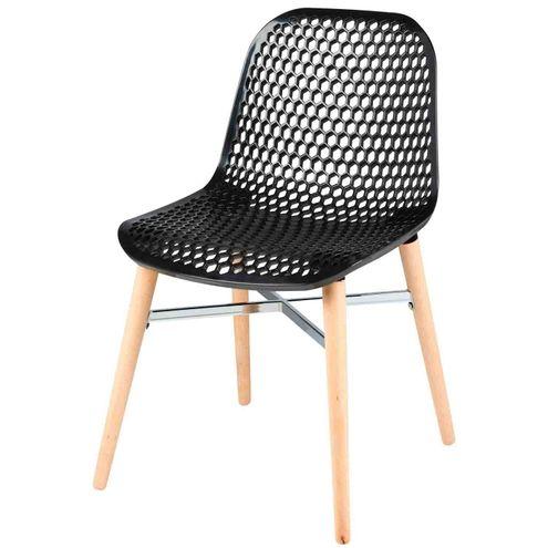 Cadeira-Vogue-Assento-Polipropileno-Base-Madeira-Cor-Preta-