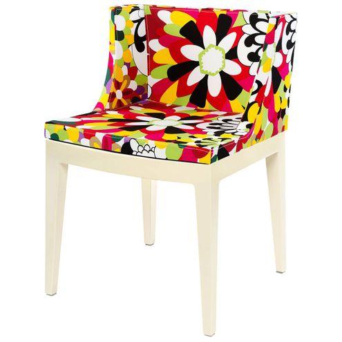 Cadeira-Mademoiselle-Estampa-Floral-Camelias-Base-Branca