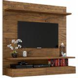Painel para TV PA14 100% MDF 1,20CM cor Nobre - 29879