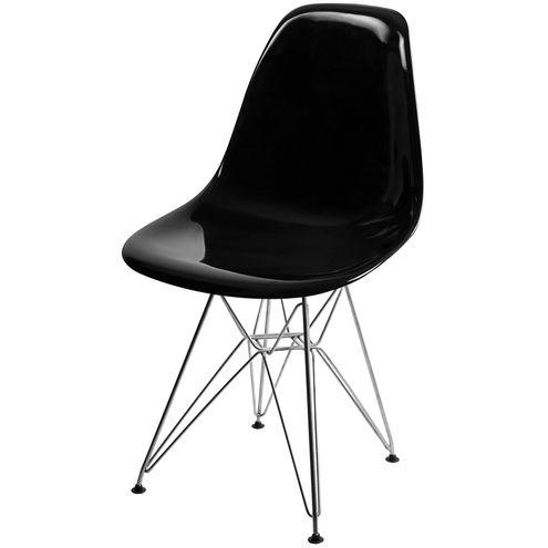Cadeira-DKR-Eames-Policarbonato-Preto-Base-Aco-Inox-