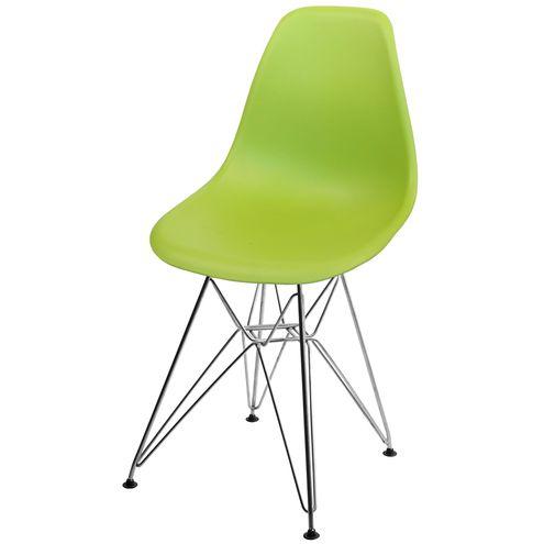 Cadeira-DKR-Eames-Polipropileno-Verde-Base-Aco-Inox