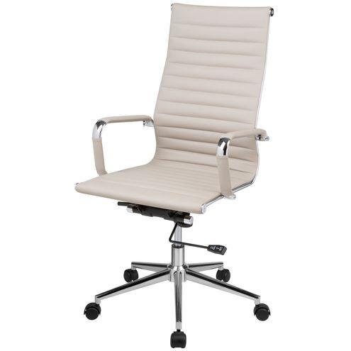 Cadeira-Eames-Office-Alta-PU-Fendi-Base-Cromada