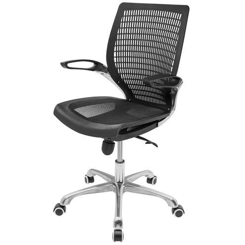 Cadeira-de-Escritorio-Gables-Encosto-Polipropileno-Preto-Base-Aluminio