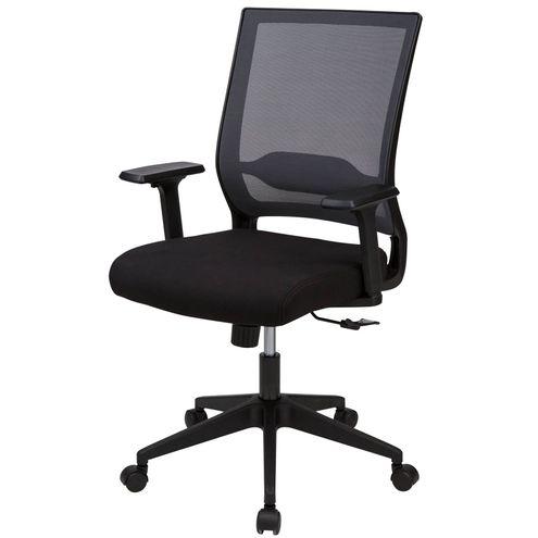 Cadeira-Office-Tampa-Tela-Mesh-Cinza-Base-Nylon-Preta