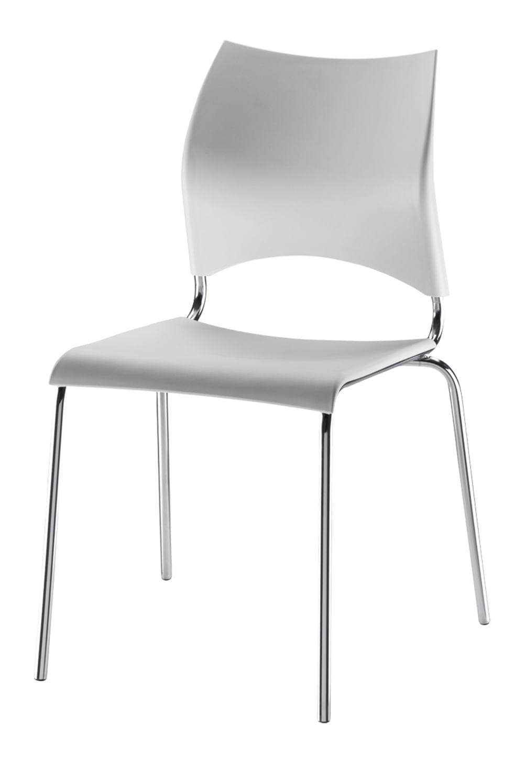 Cadeira em Polipropileno Branco 12273