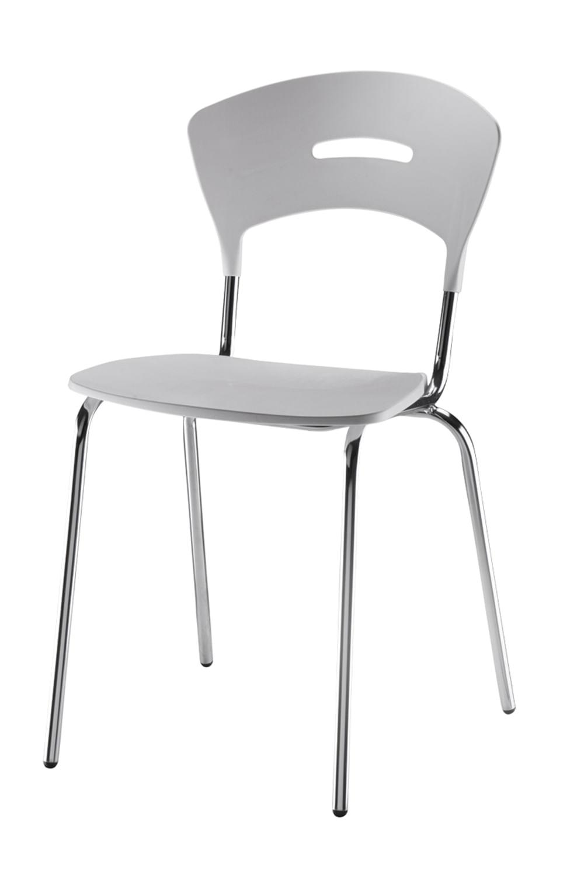 Cadeira em Polipropileno Branco 12280