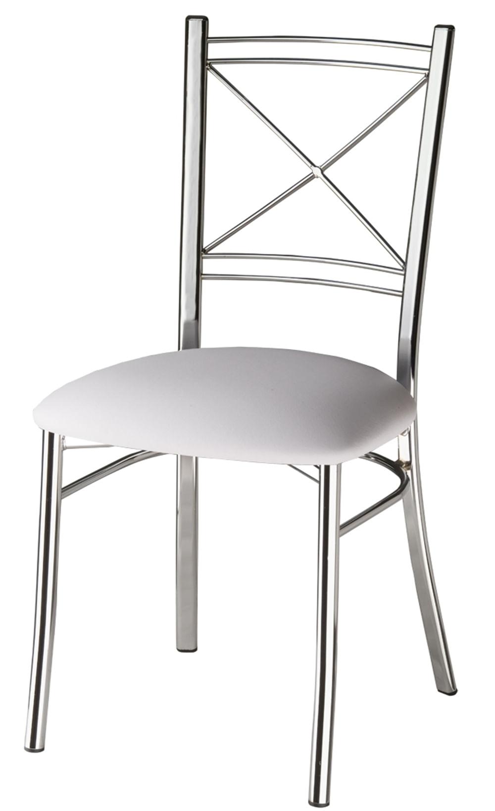 Cadeira Assento Korino Branco Enc. Aramado 12296