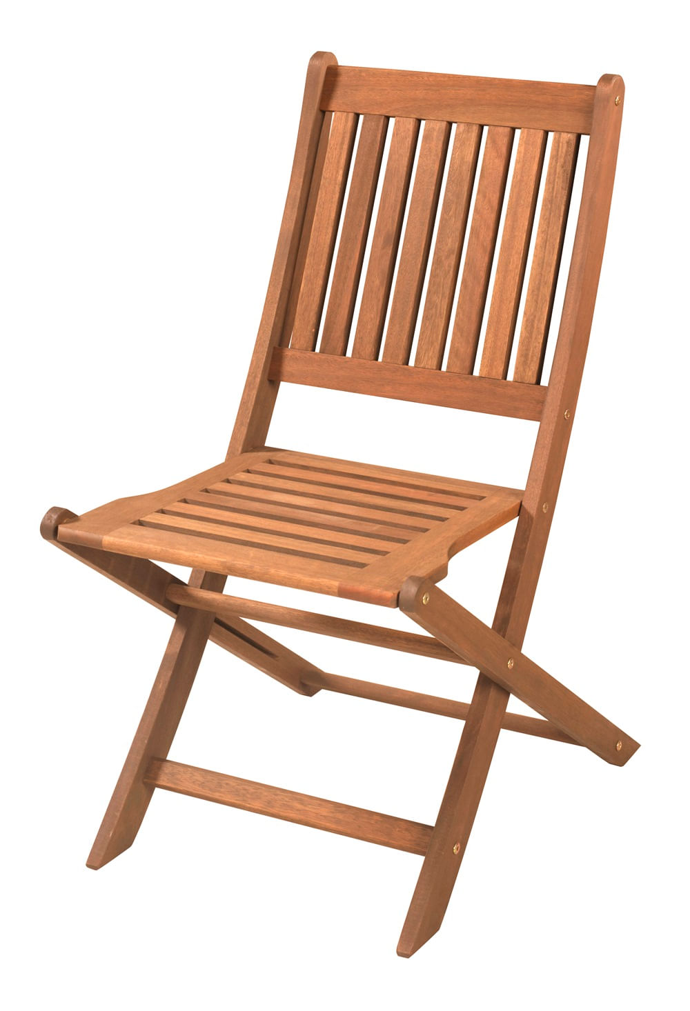 Cadeira Dobravel Sem Braco Cor Stain Jatoba - 15557