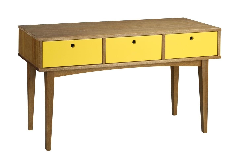 Aparador Vintage Acab. Amendoa Laca Amarelo - 17122