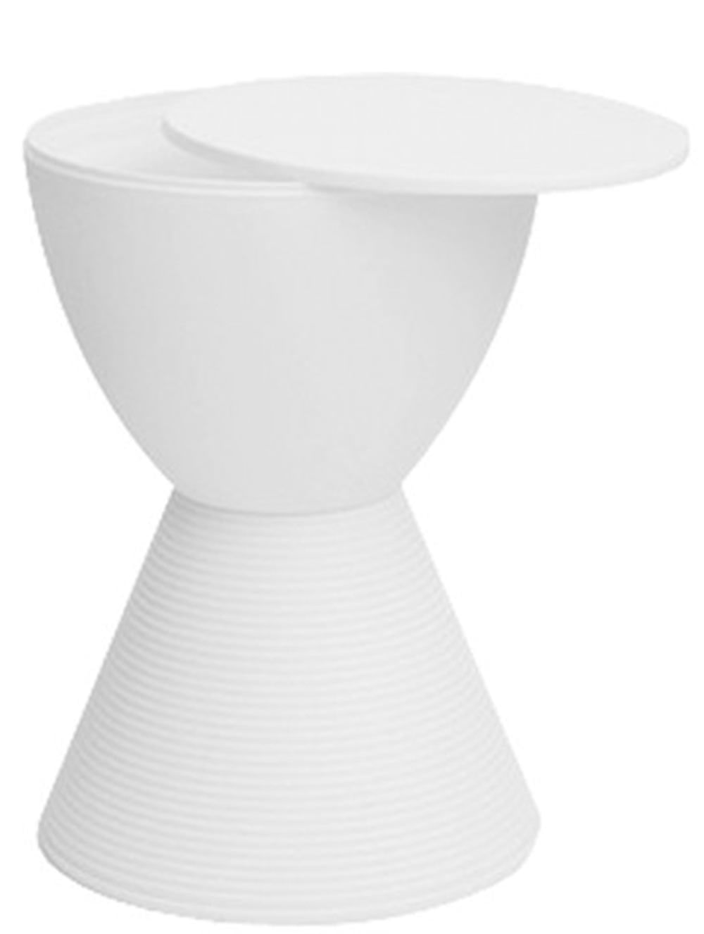 Banqueta Pawn com Tampo Branco - 14003