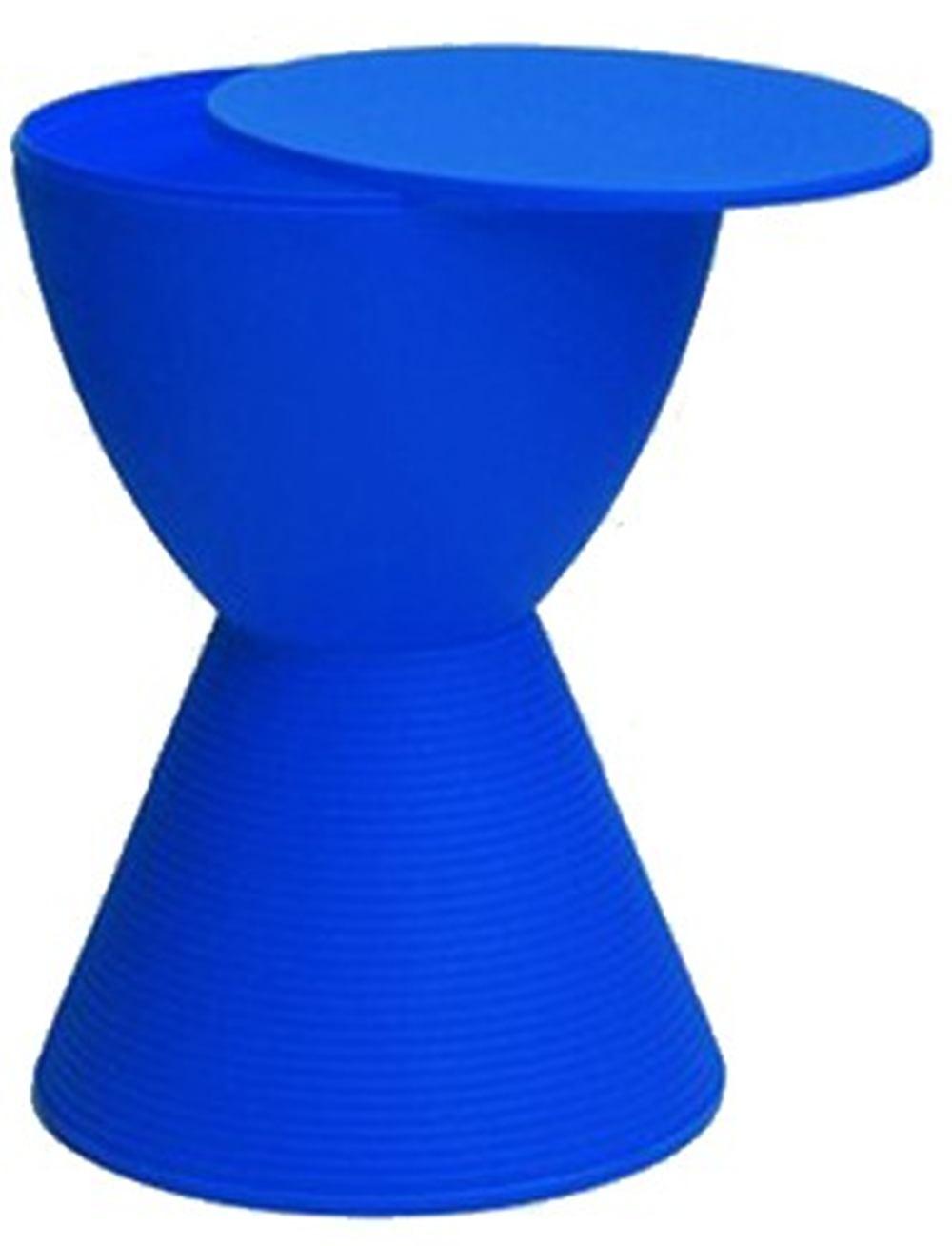 Banqueta Pawn com Tampo Azul - 13333
