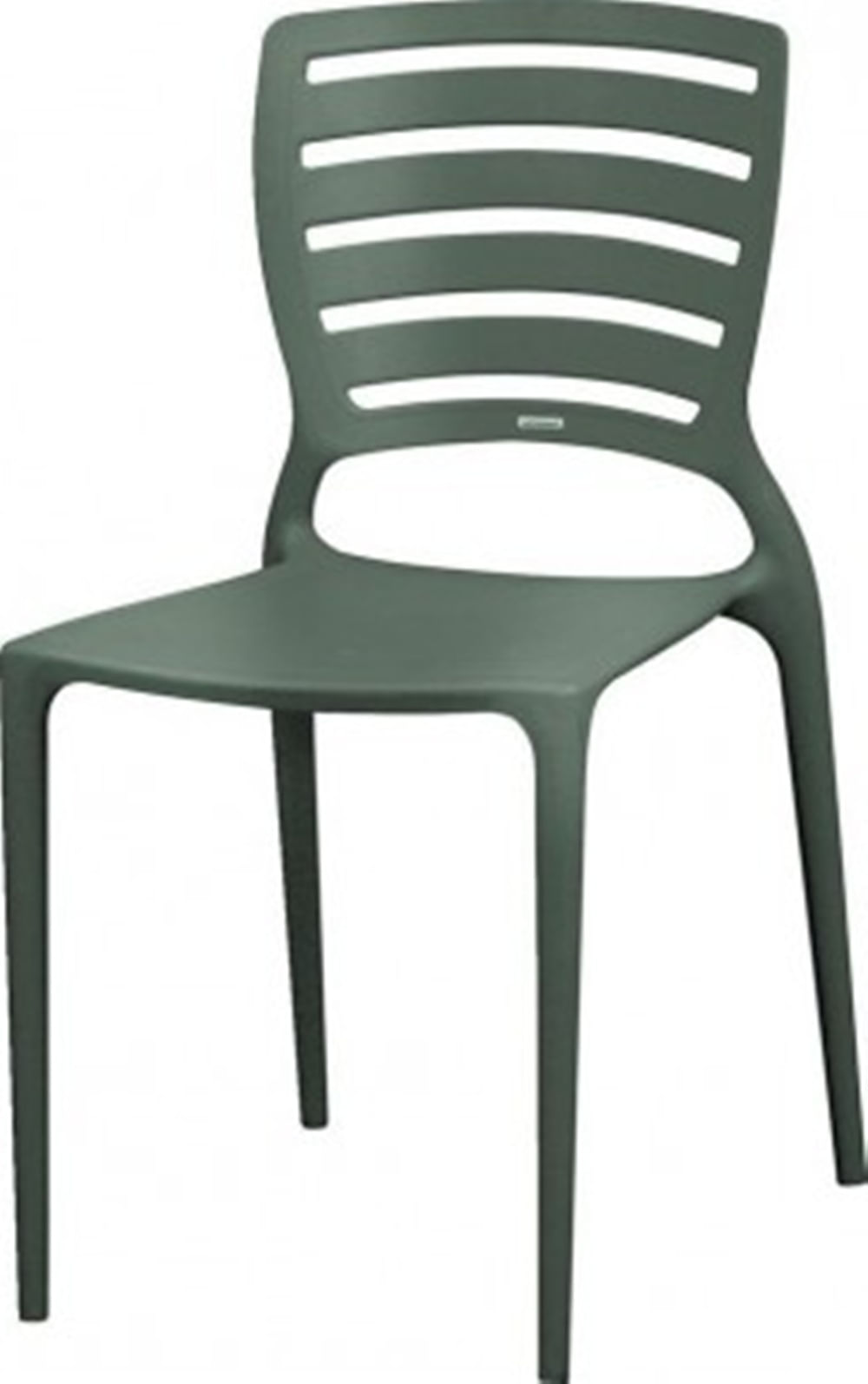 Cadeira Sofia Vazado Horizontal Polipropileno Grafite - 5995