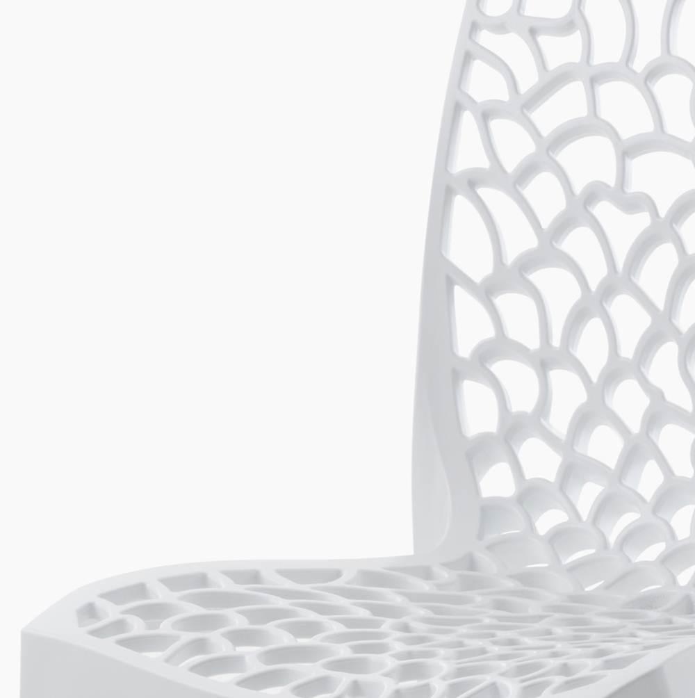 Cadeira Gruver Polipropileno Branca - 16778