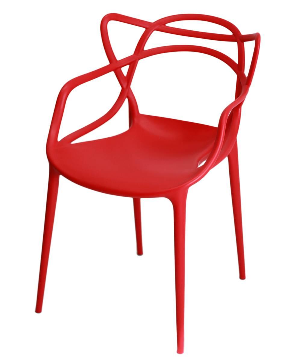 Cadeira Master Allegra Polipropileno Vermelha - 21398