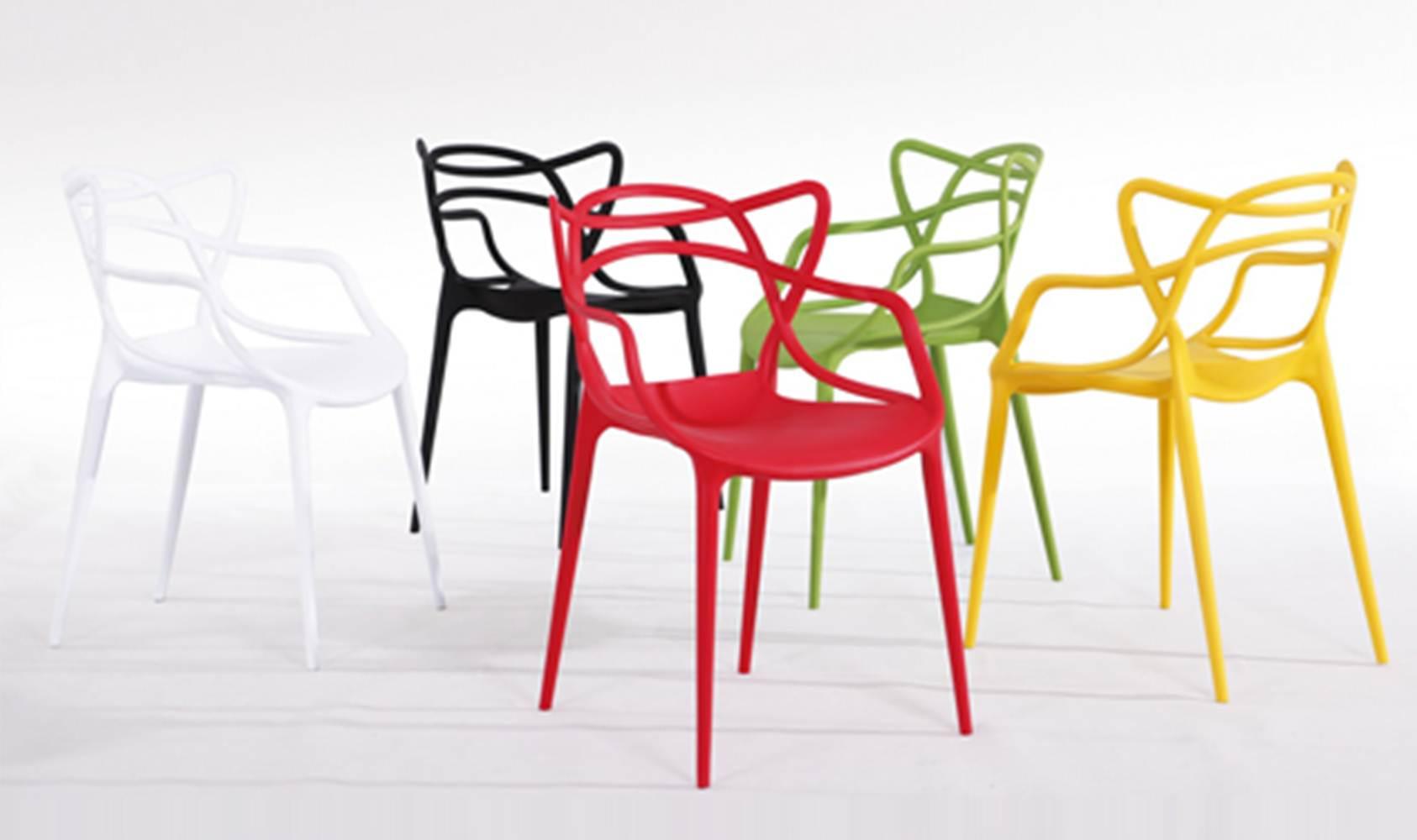 Cadeira Master Allegra Polipropileno Amarela - 21399