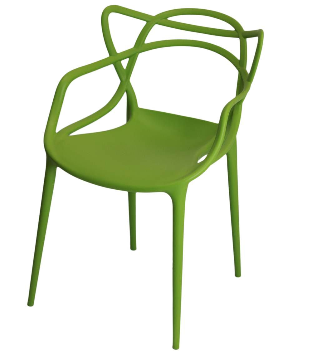 Cadeira Master Allegra Polipropileno Verde - 21401