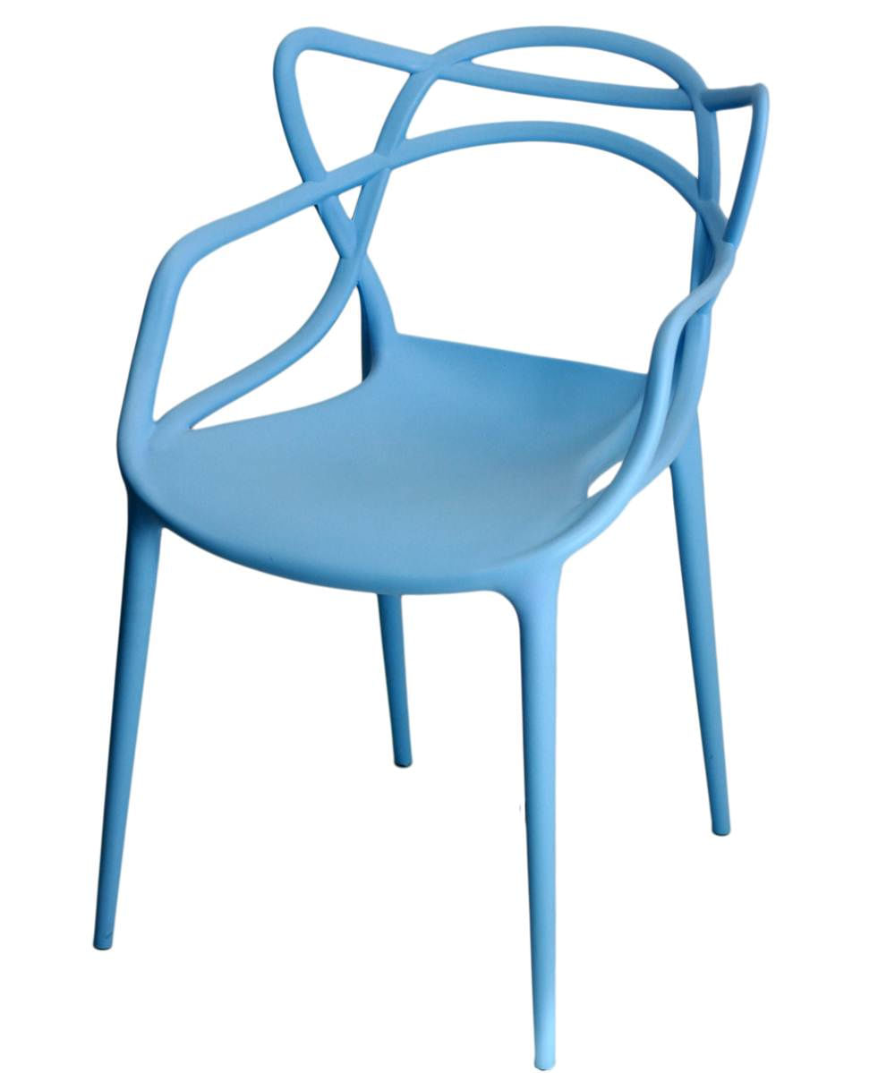 Cadeira Master Allegra Polipropileno Azul - 21400