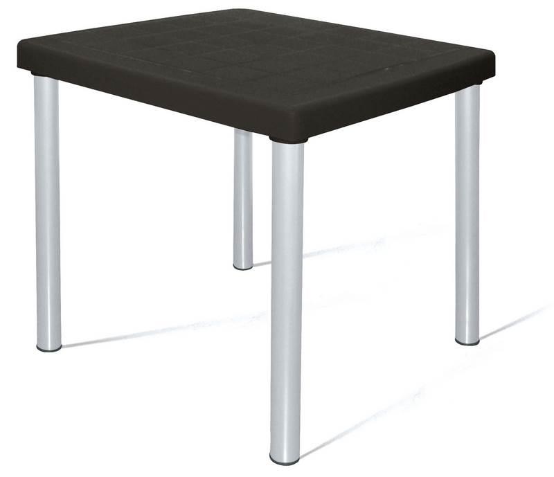Mesa Mona Aluminio Anodizado Cor Preto - 21755