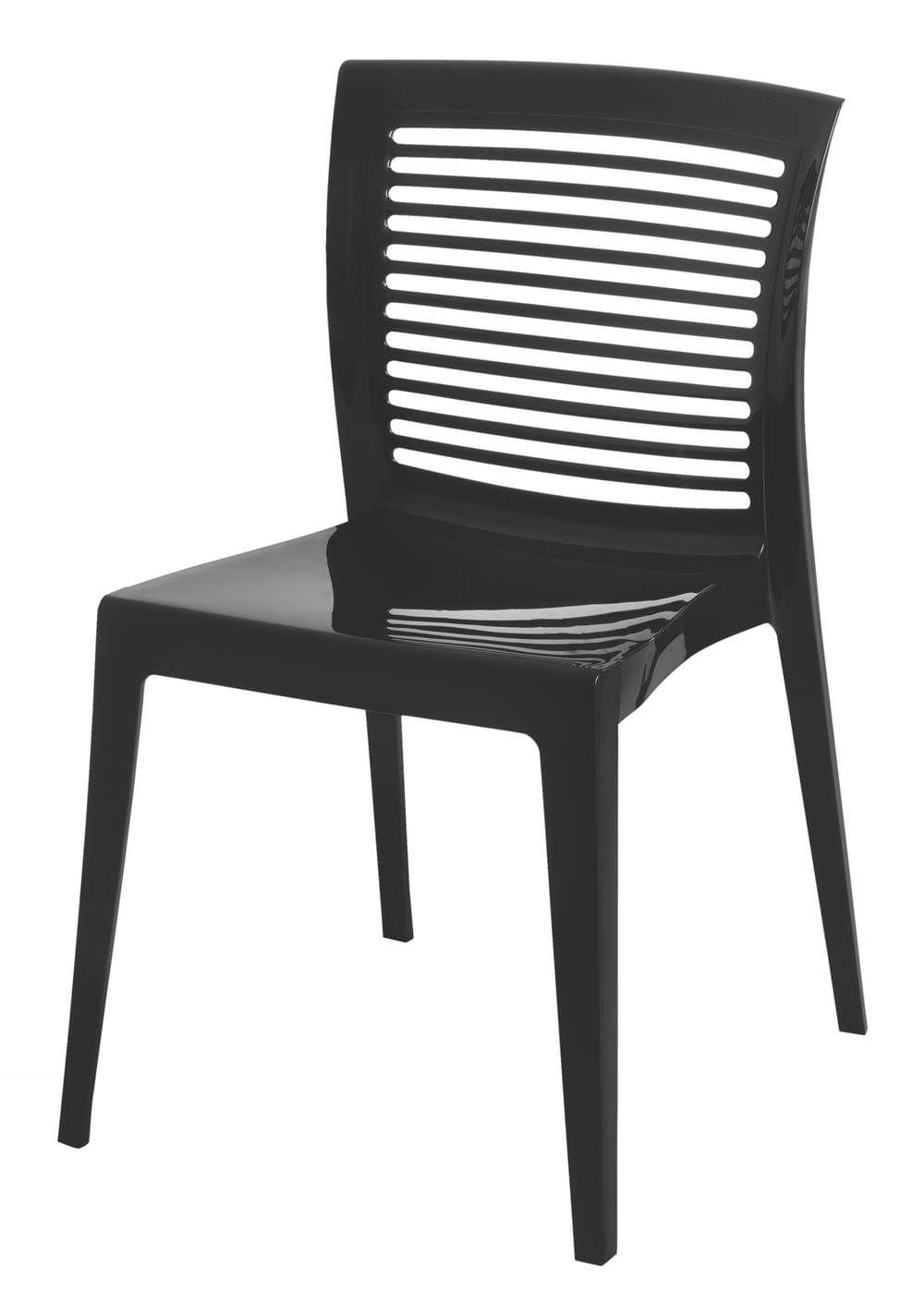 Cadeira Victoria Encosto Vazado Cor Preto - 21711