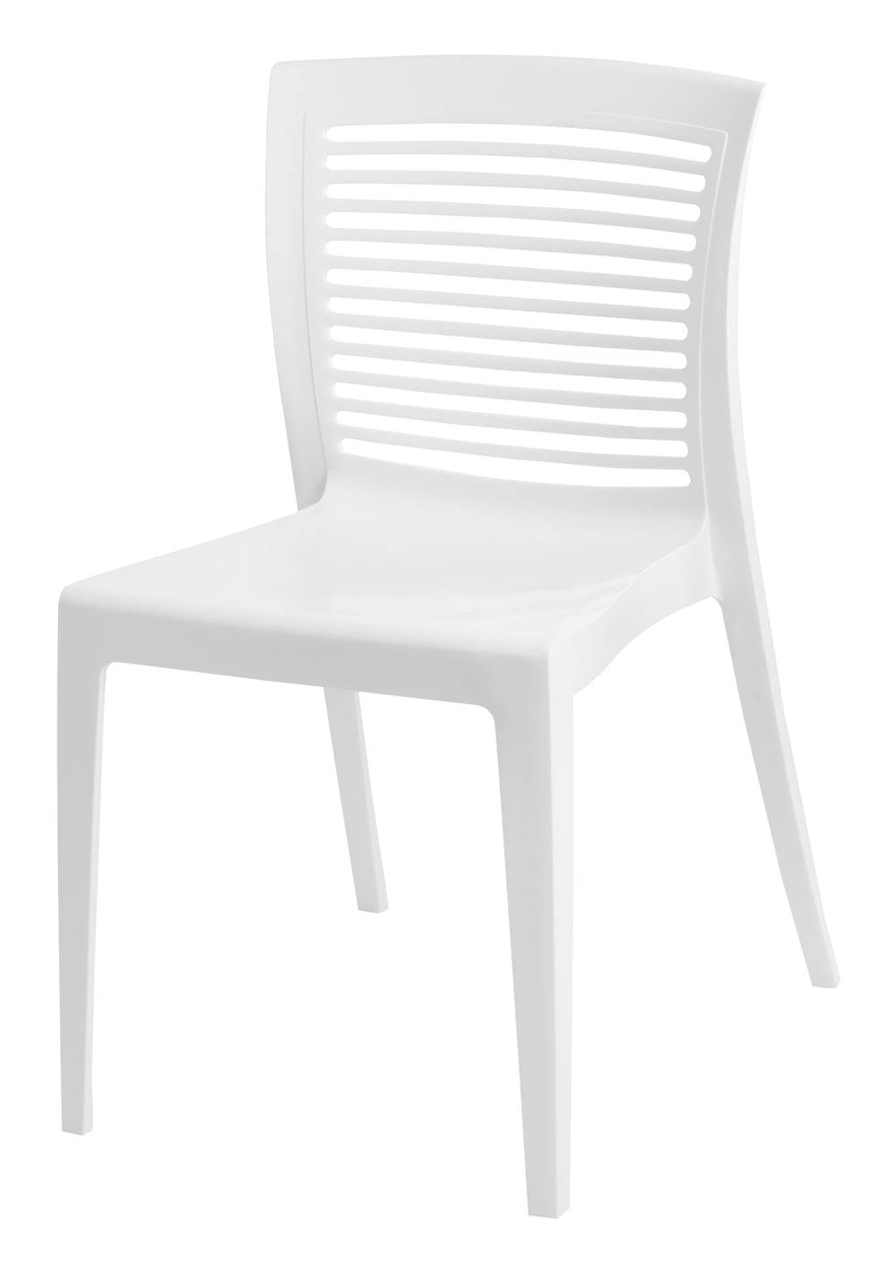 Cadeira Victoria Encosto Vazado Cor Branco - 21712