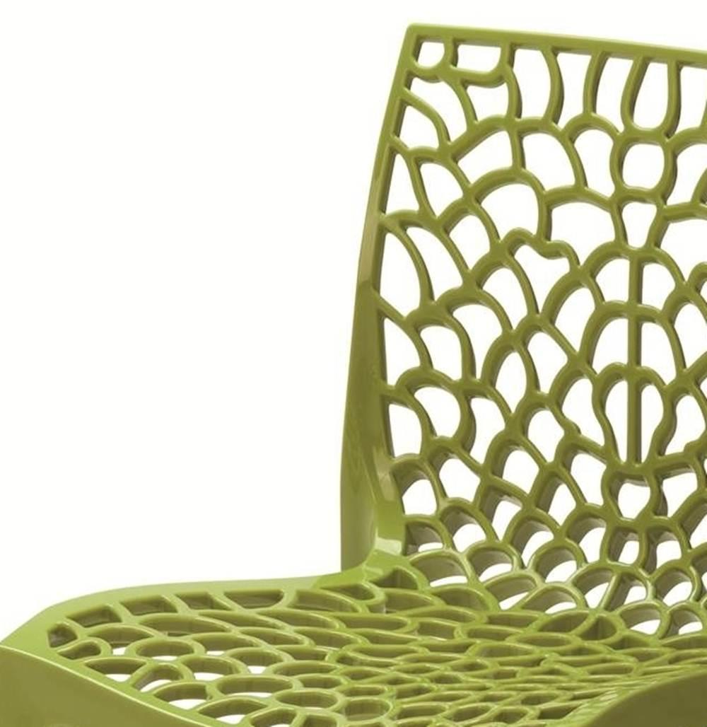 Cadeira Gruver Polipropileno Verde - 23075