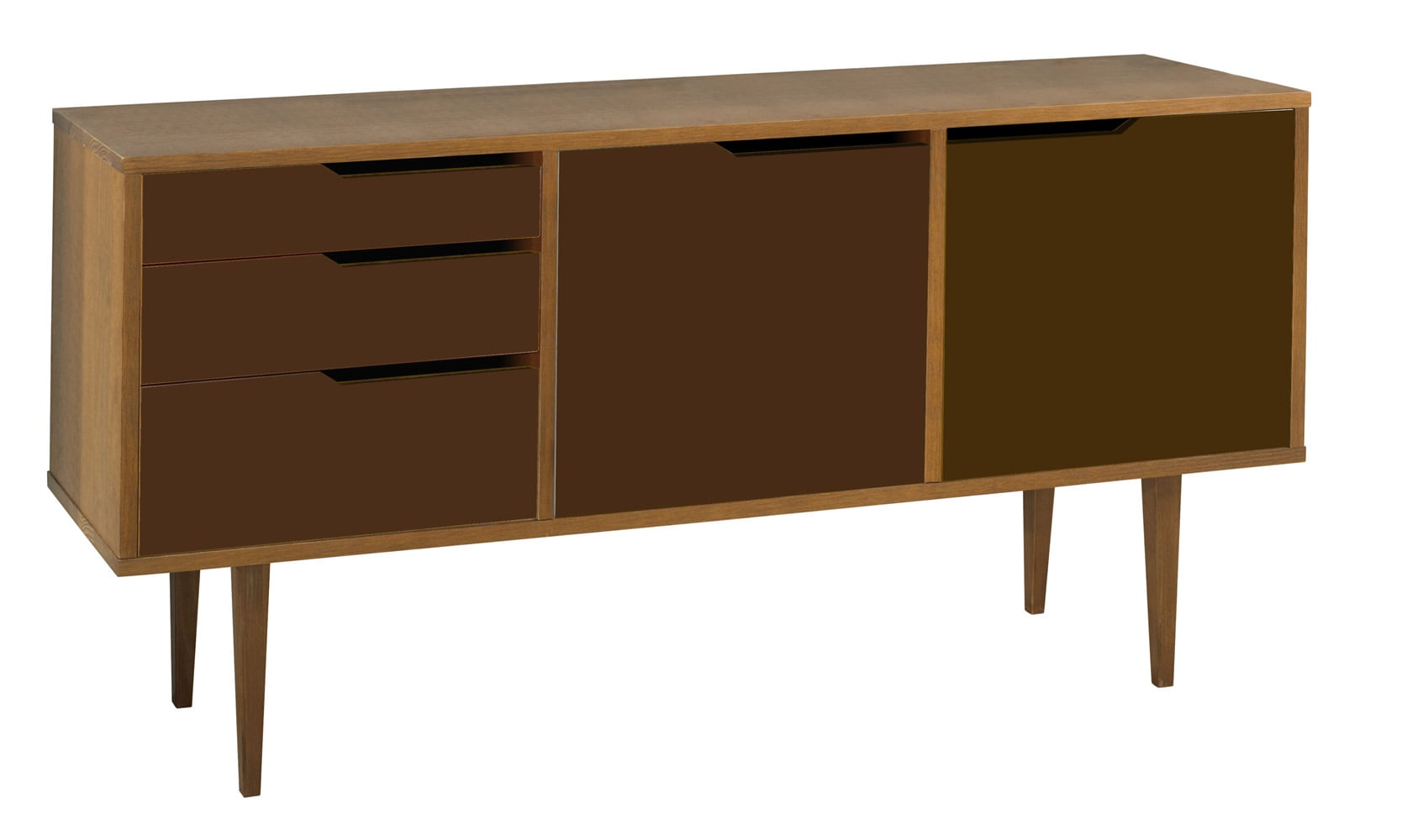 Buffet Strauss Amendoa 3 Gav 2 Port Cor Marrom - 25394